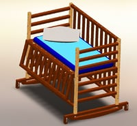 3D cot child assembly