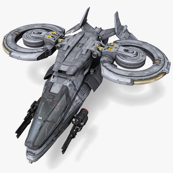 sf light fighter 3D