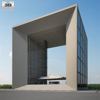 3D grande arche