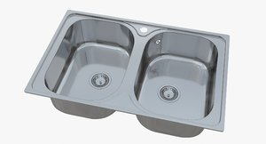 sink blanco tipo 8 model