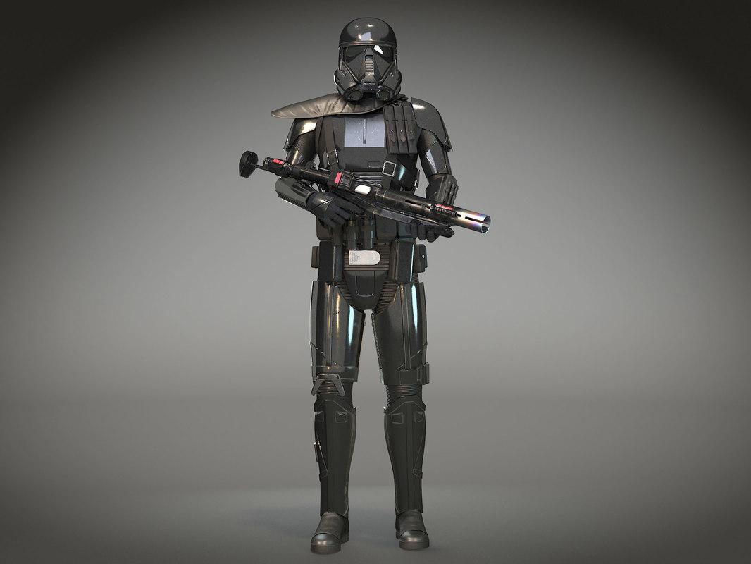 starwars death trooper 3D model