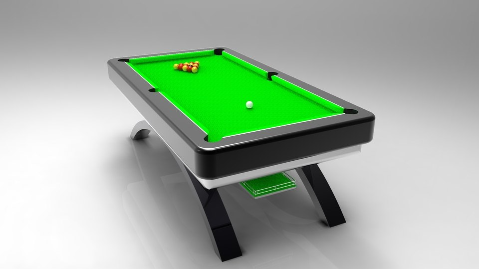 pool table 3D
