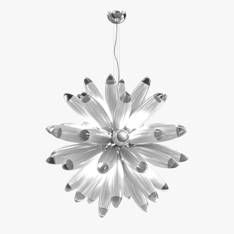3D chandelier flo hanging lamp