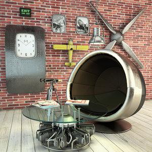 3D decor loft