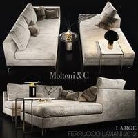 3D sofa - model