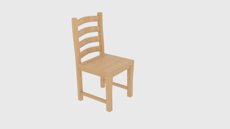 globe-views dreams chair 04 3D model