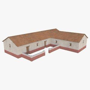 roman building 4 3D model