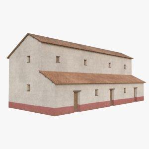 roman building 7 3D model