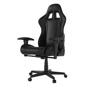 3D dxracer gaming chair model