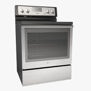 whirlpool electric range stove model