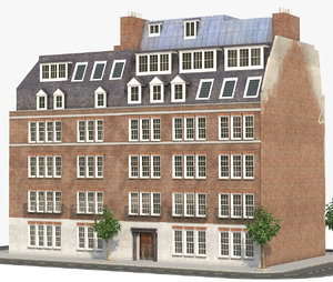 3D model london building