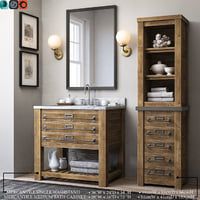 3D mercantile single washstand medium