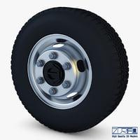 truck wheel v 1 3D model