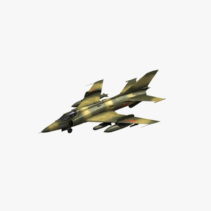 chinese air force q5 3D model