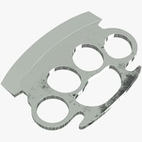 blade knuckles 3D model