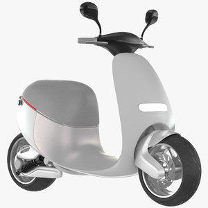 3D smart scooter gogoro model