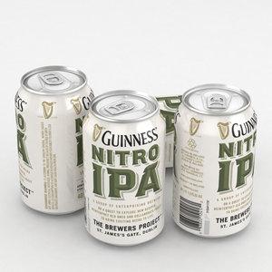 3D model beer ipa