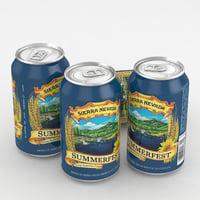 beer lager 3D model