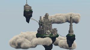 castle sky 3D