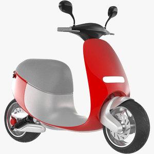 smart scooter gogoro 3D model