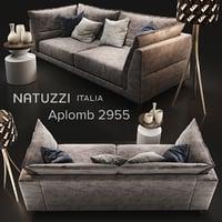 sofa natuzzi aplomb model