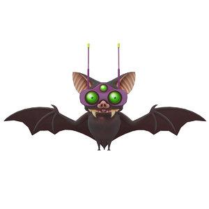 3D byron bat