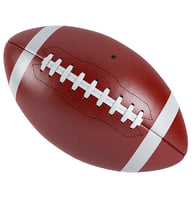 3D model football ball america