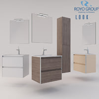 Royo Group - LOOK 600 Set Depth 44  2 Drawers
