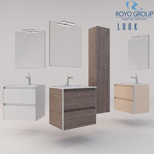 3D royo group 600 looks