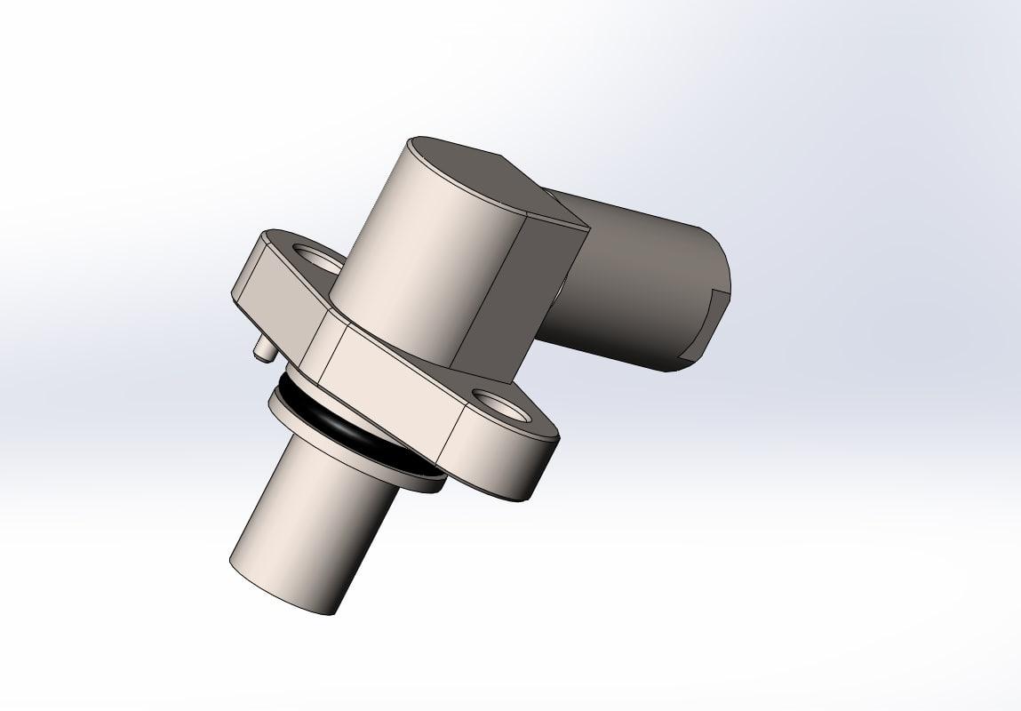 speed sensor 3D model