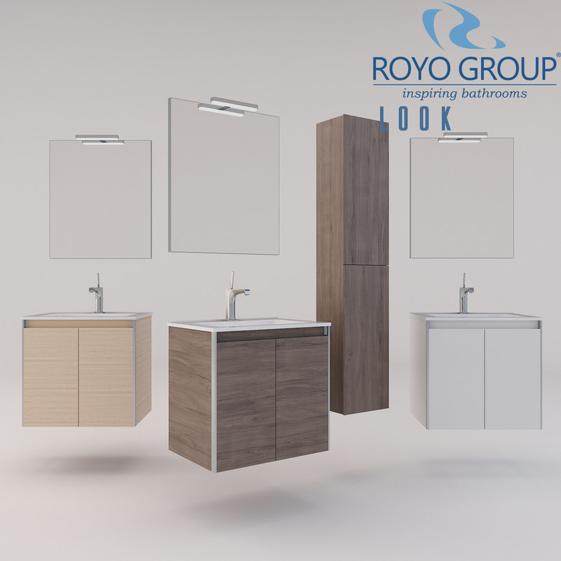 3D royo group 600 looks model