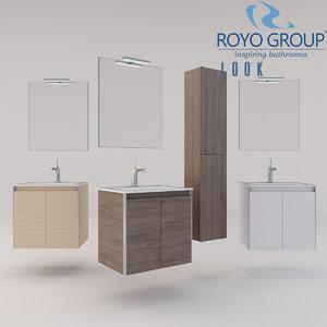 3D royo group 600 looks model