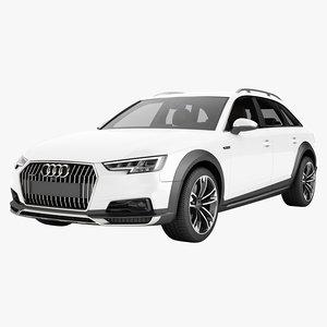 a4 2016 allroad 3D model
