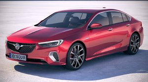 3D buick regal gs model