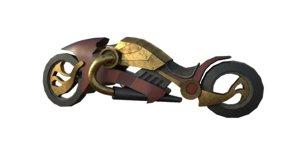 3D model sience moto