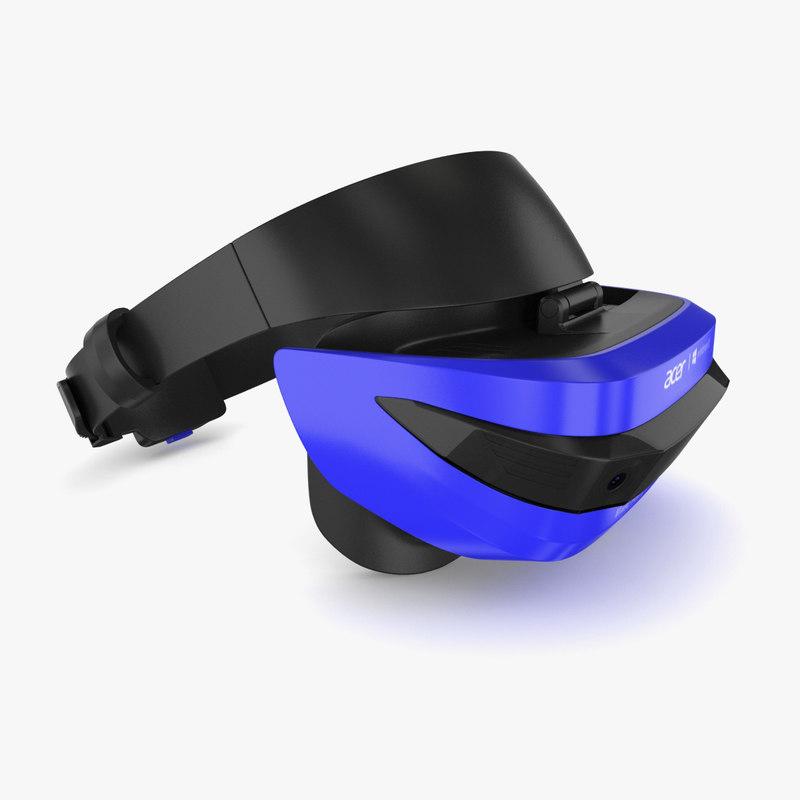 acer headset 3D model