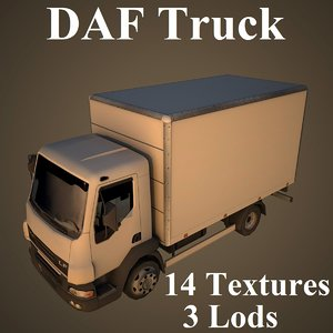 daf truck model