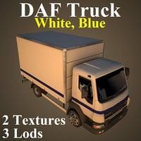 3D daf truck wbl