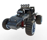 3D model buggy interceptor