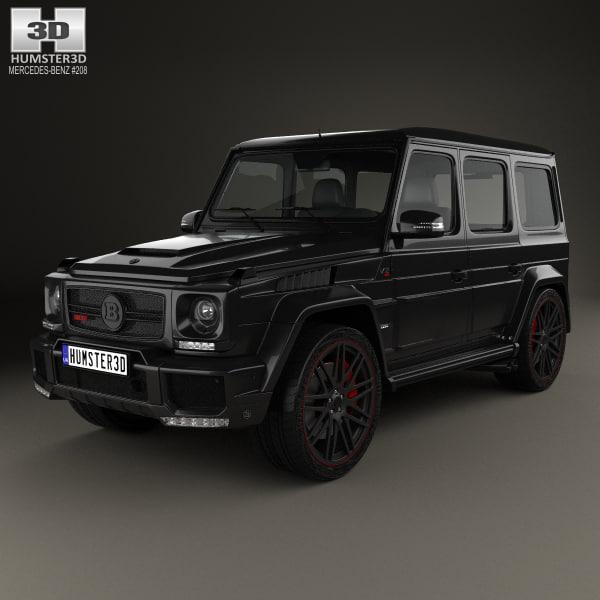 3D mercedes-benz g-class g