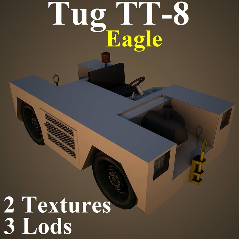 3D model tug eag