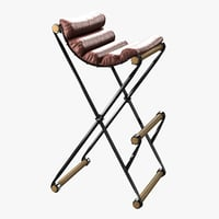 3D bar chair custom model