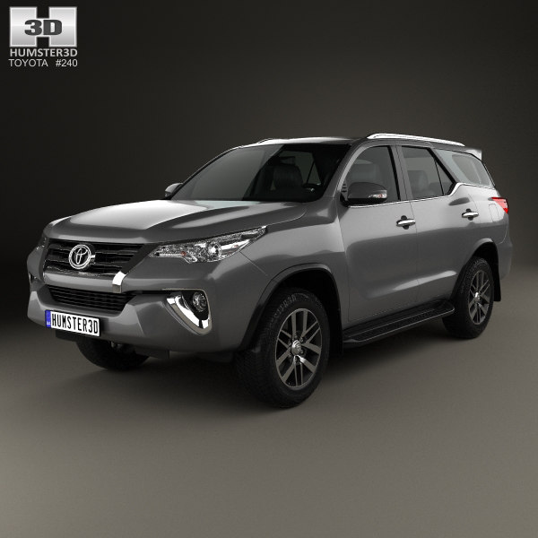 3D model fortuner toyota 2016