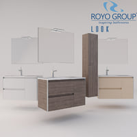 Royo Group - LOOK 900 Set Depth 44 - 2 Drawers - 1 Door