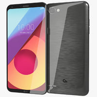 3D model realistic lg q6 black