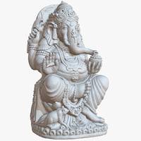 sculpture ganesha big 1m 3D