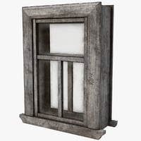 old window 3D
