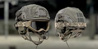 soldier bulletproof helmet military 3D
