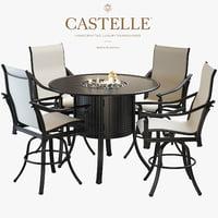 3D model castelle coco isle bar