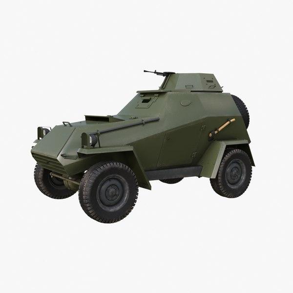 ba-64 soviet 3D model